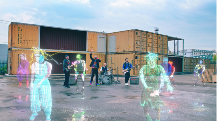 I Coldplay e il lancio extraterrestre del loro nuovo singolo